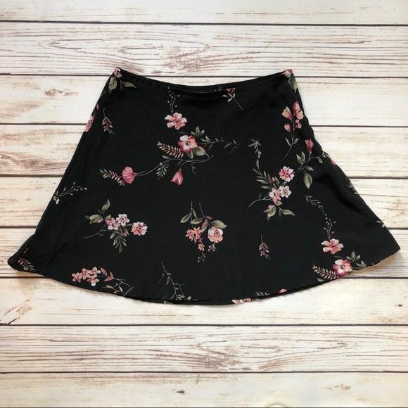 e51cfa658 Vintage Skirts | 90s Floral Mini Skater Skirt | Poshmark